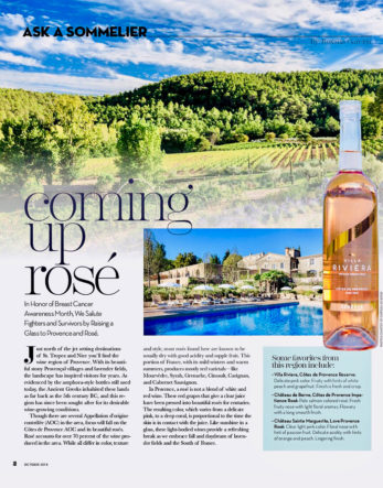 Ask a Sommelier: Coming up rosé